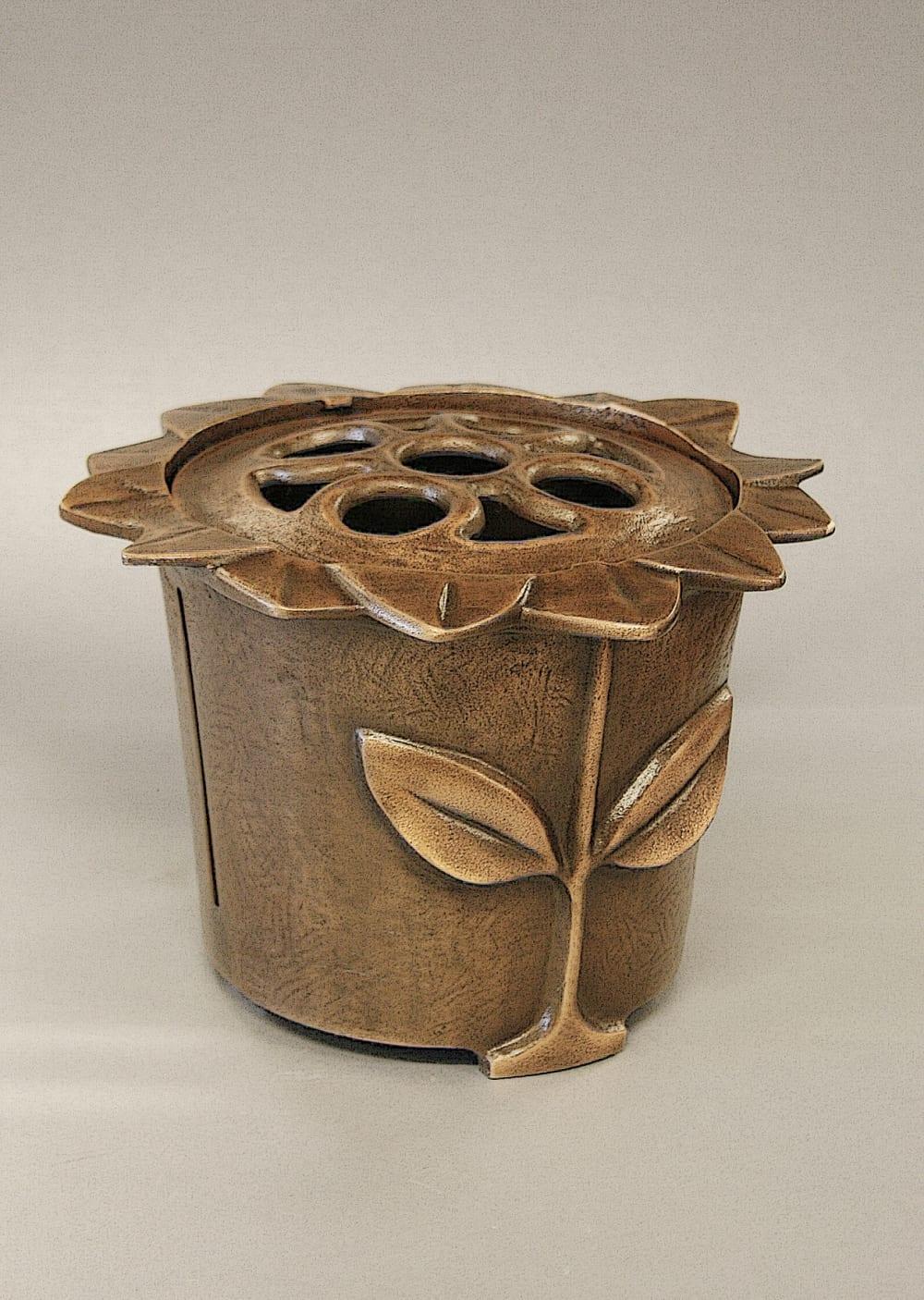 Bronzen vaas