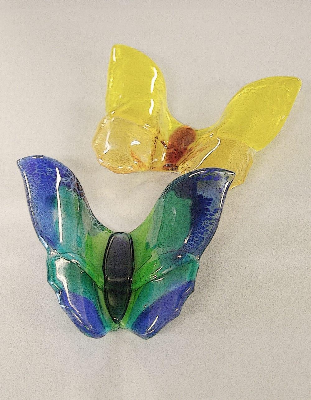 Vlinders van glas