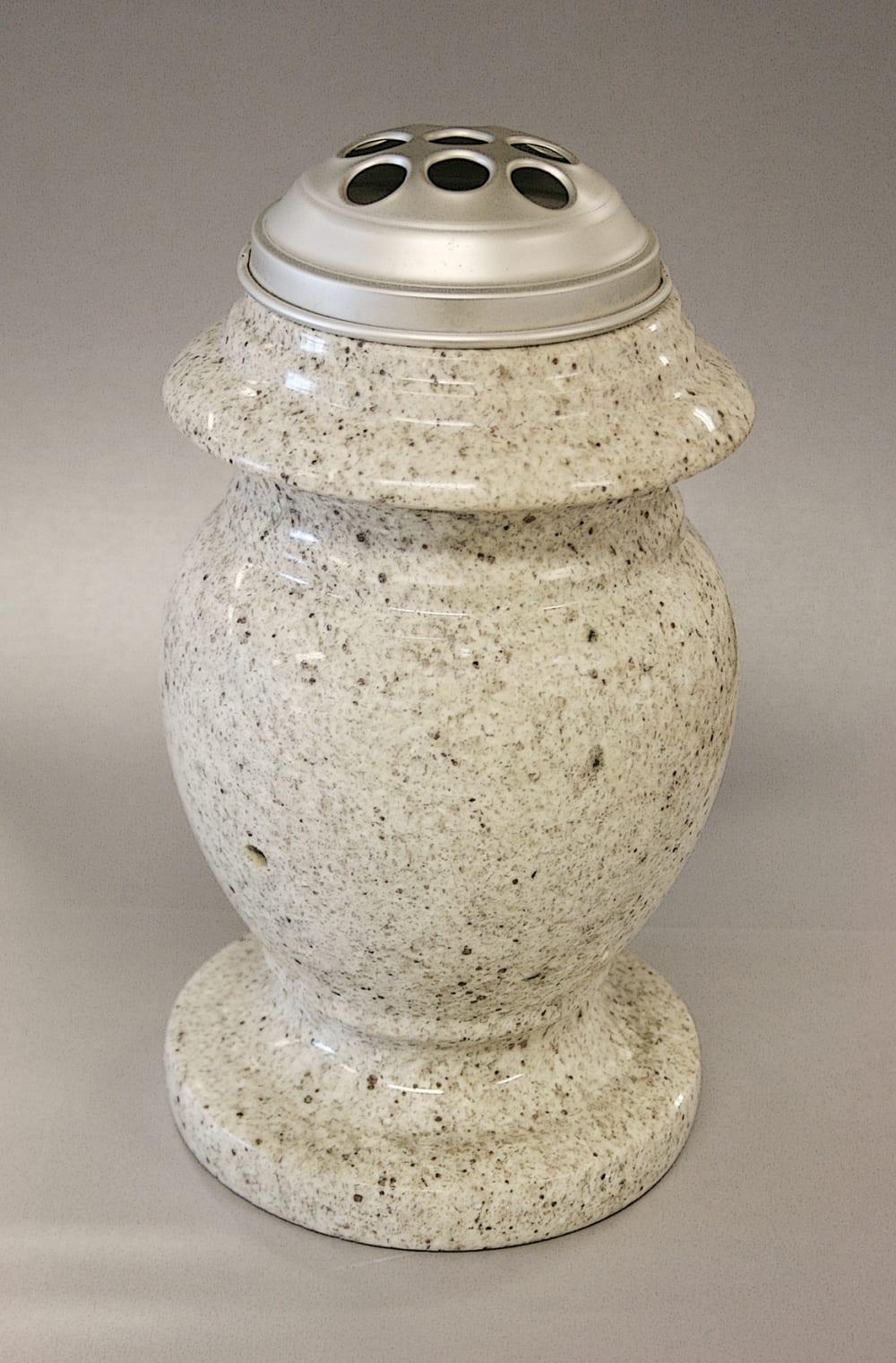 Wit marmeren vaas