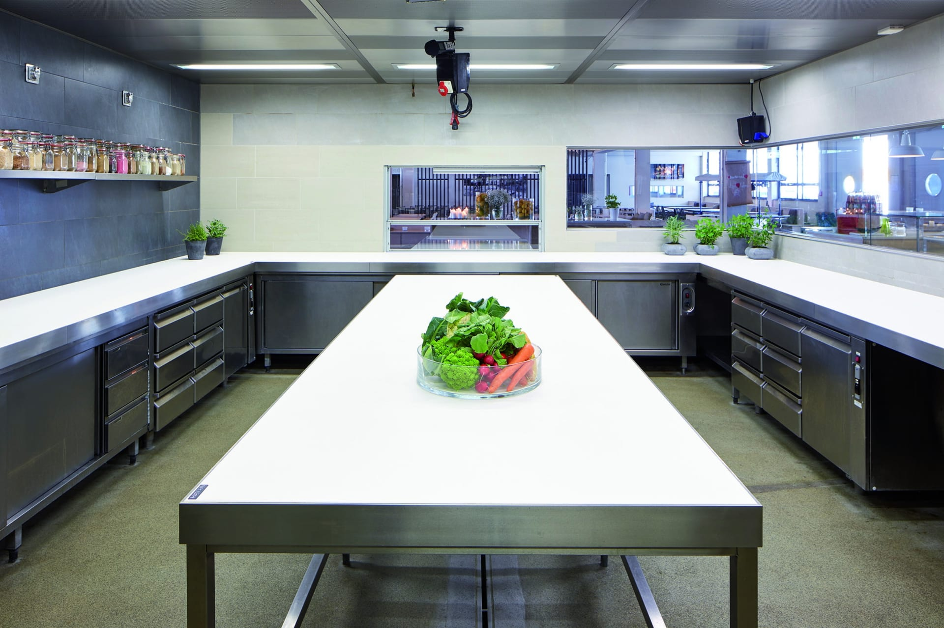 Neolith Artic White aanrechtblad