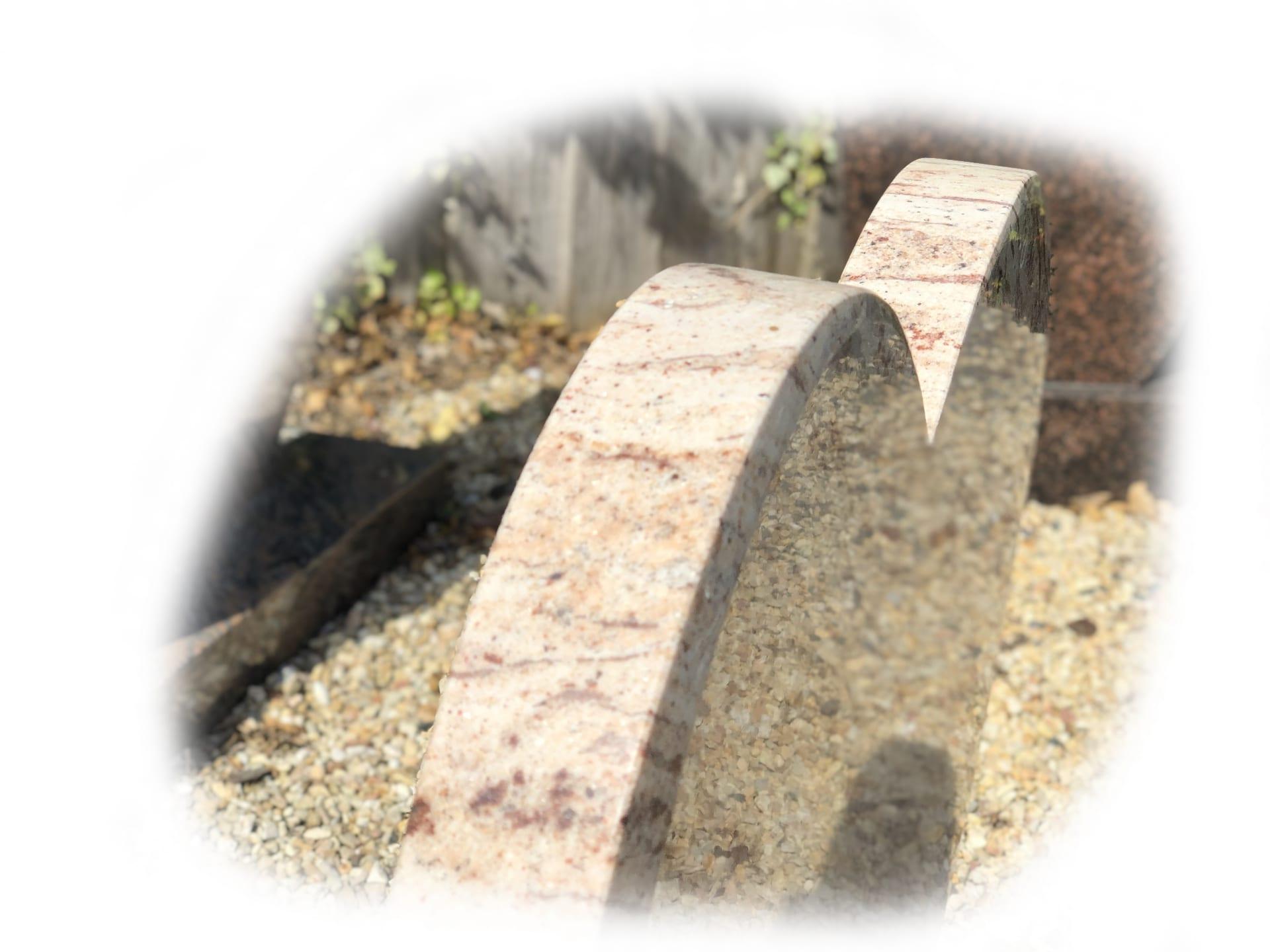 Grafsteen Shivakashy Yellow graniet 66