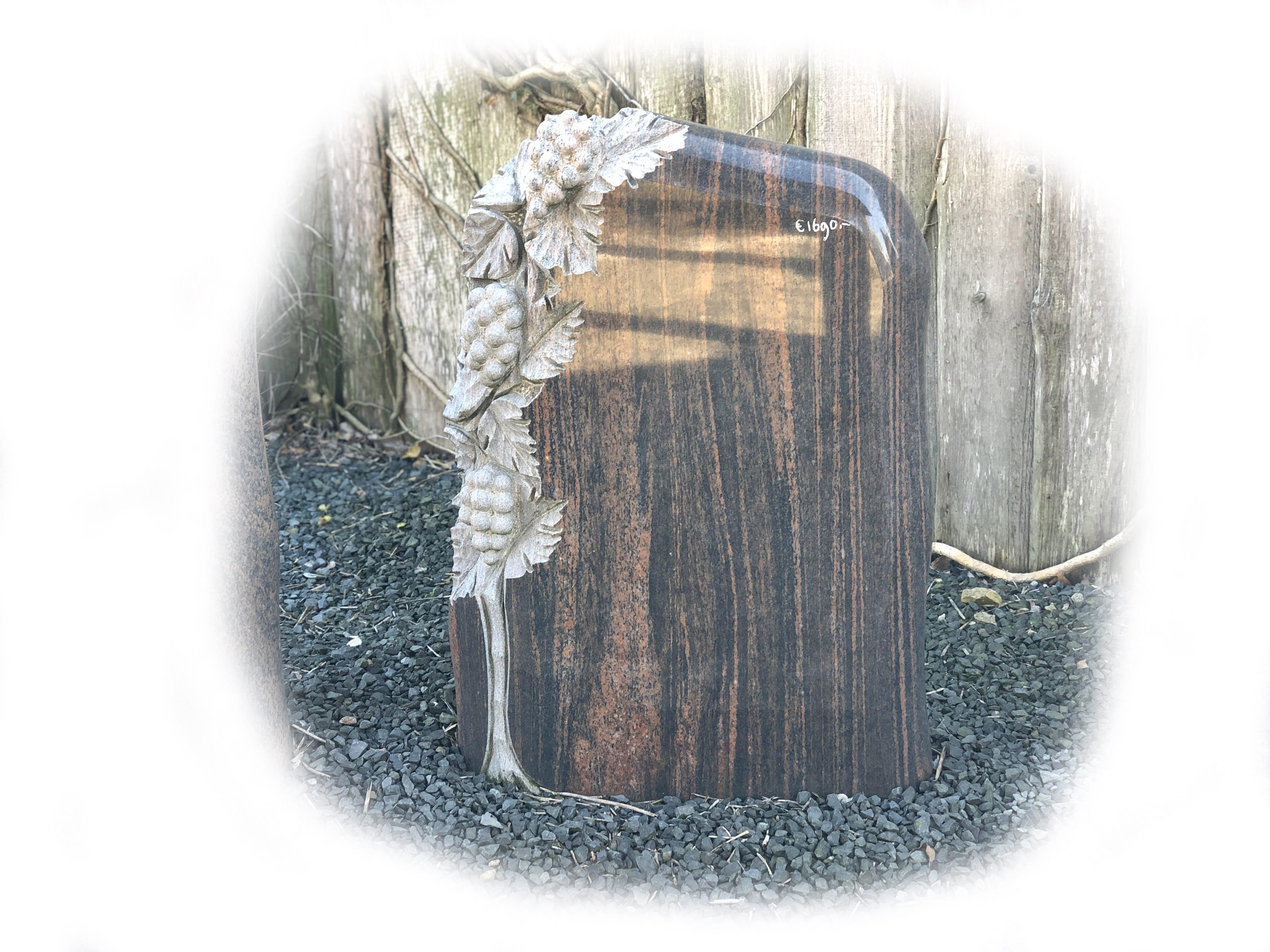 Grafsteen Halmstad Graniet 56