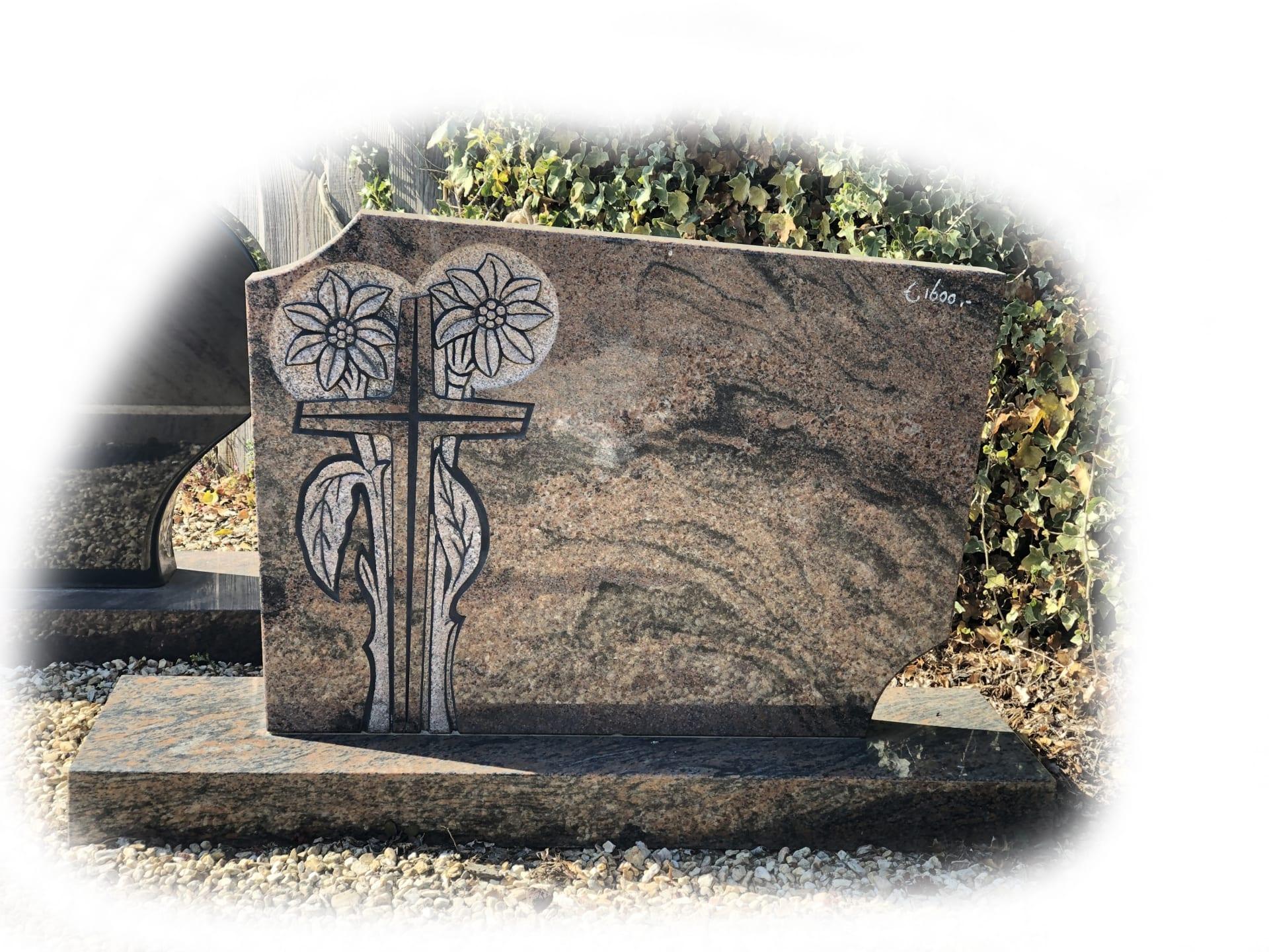 Grafsteen Halmstad graniet 21
