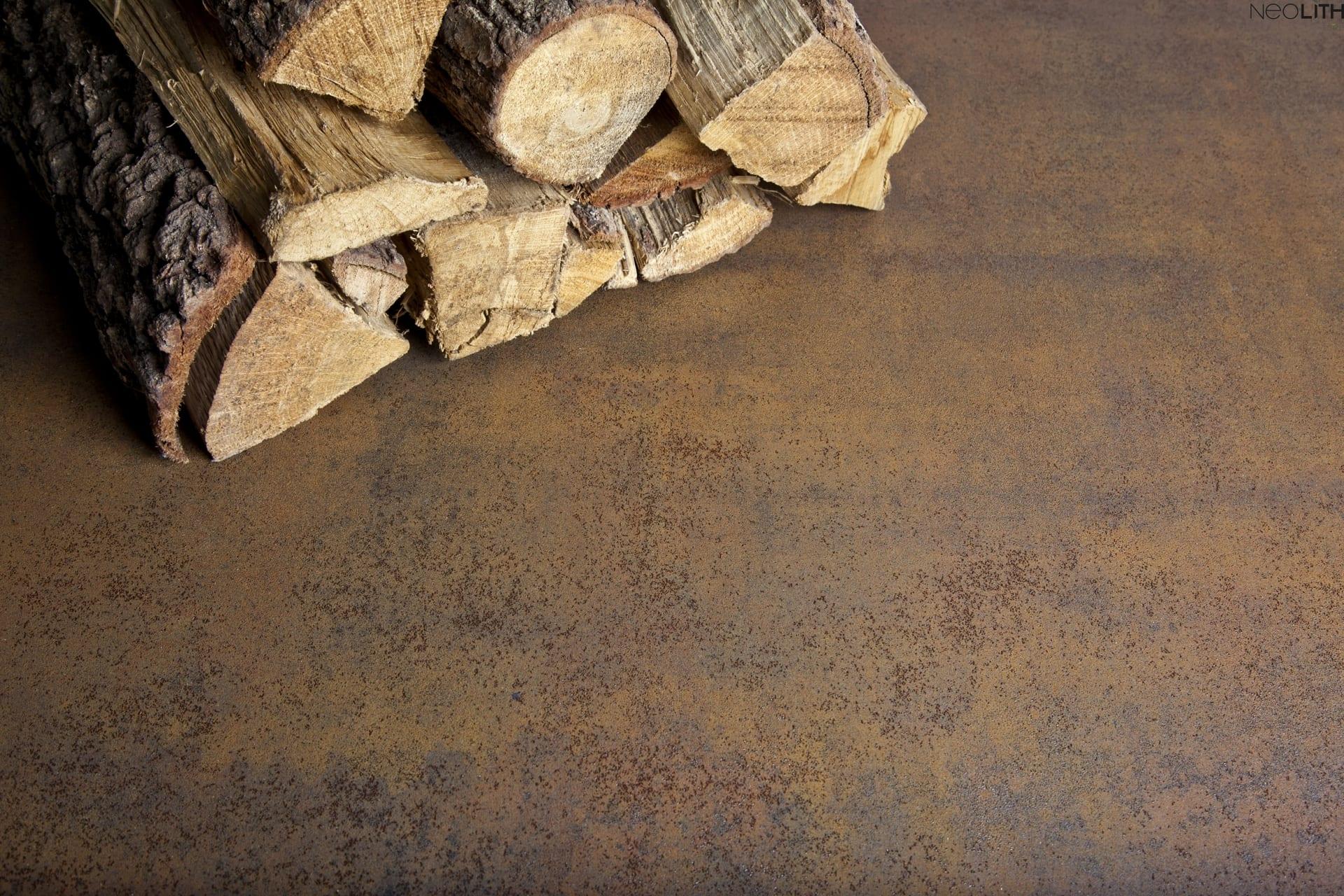 Neolith Iron Corten vloer