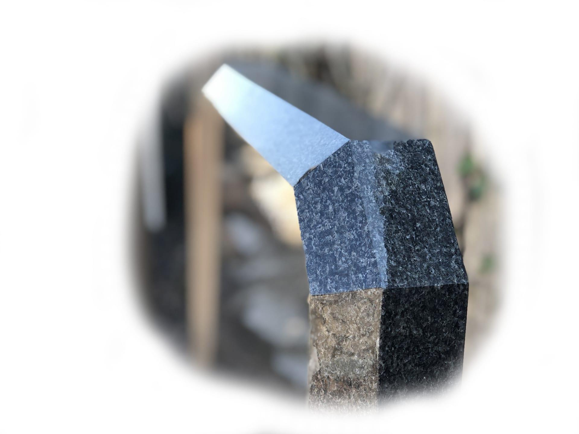 Grafsteen impala graniet 9