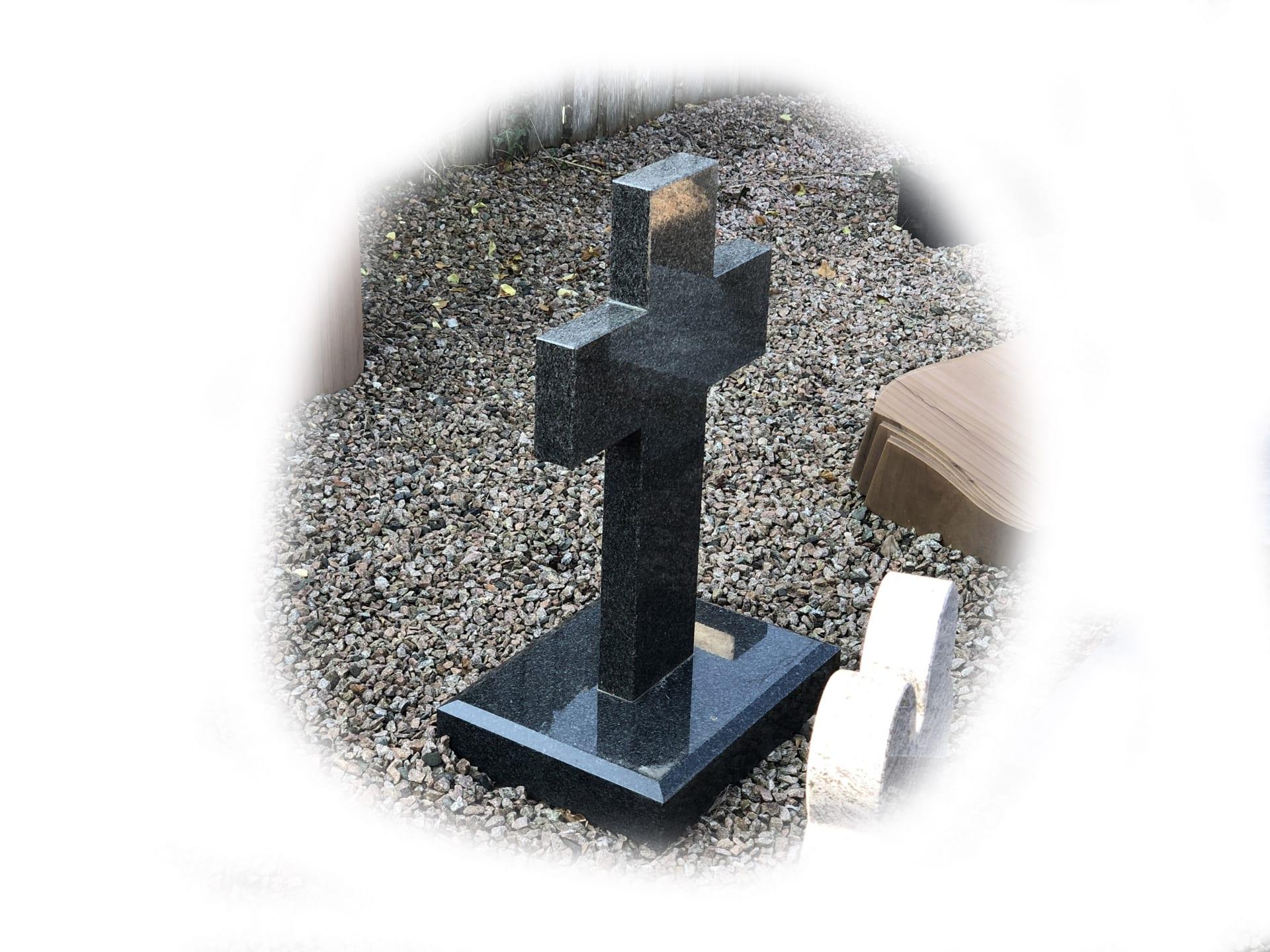 Grafsteen impala graniet 104