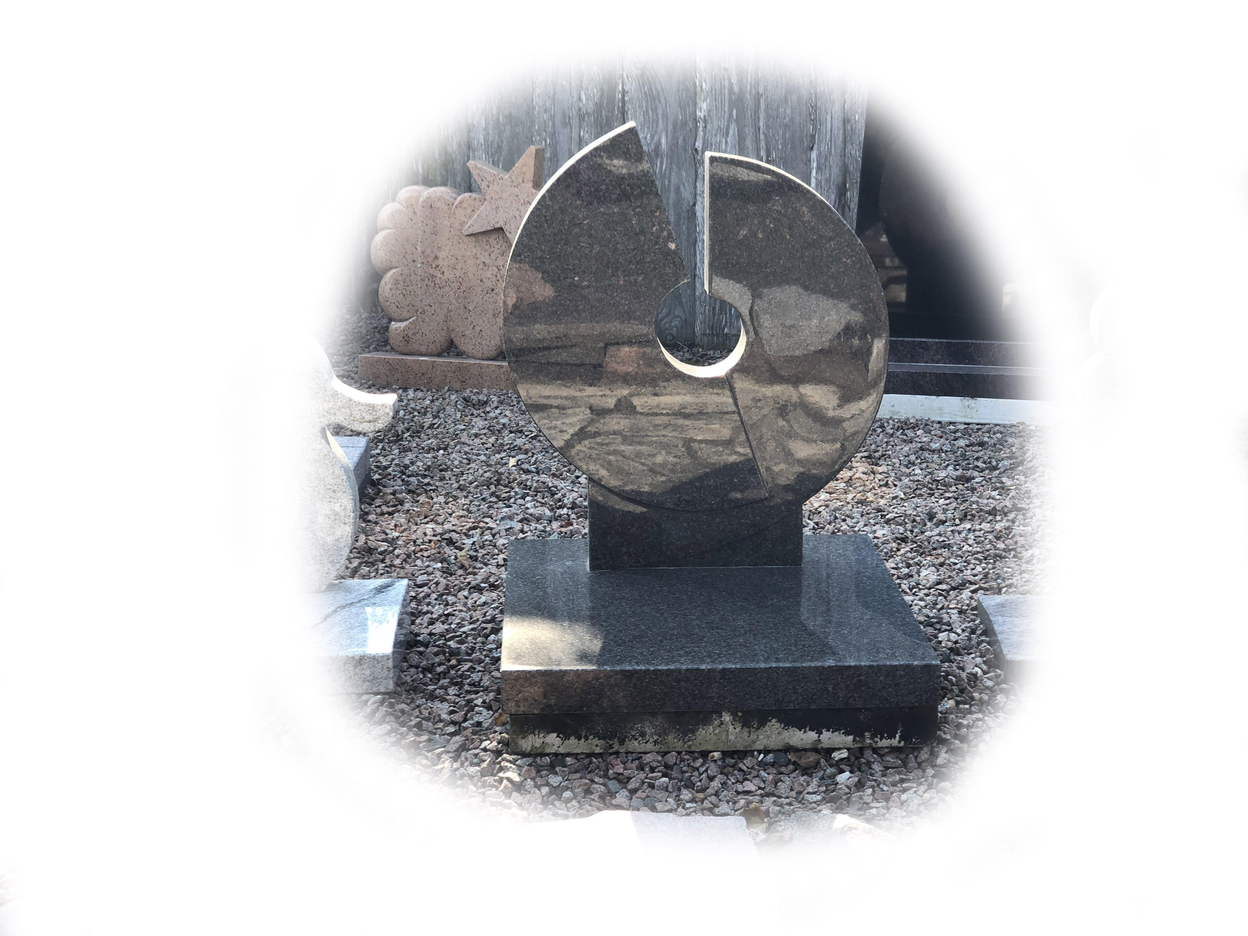 Grafsteen impala graniet 108