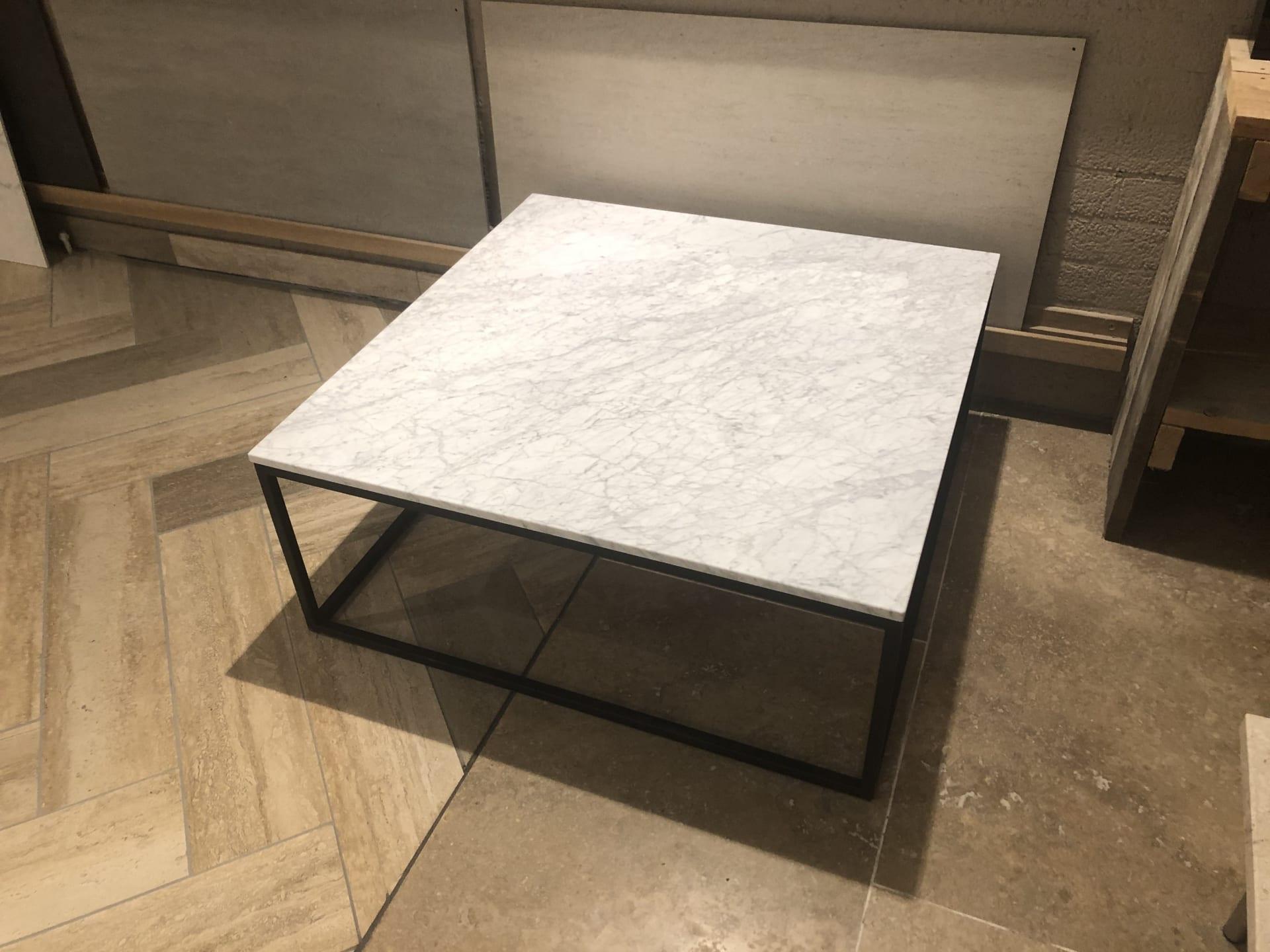 Salontafel Bianco Carrara