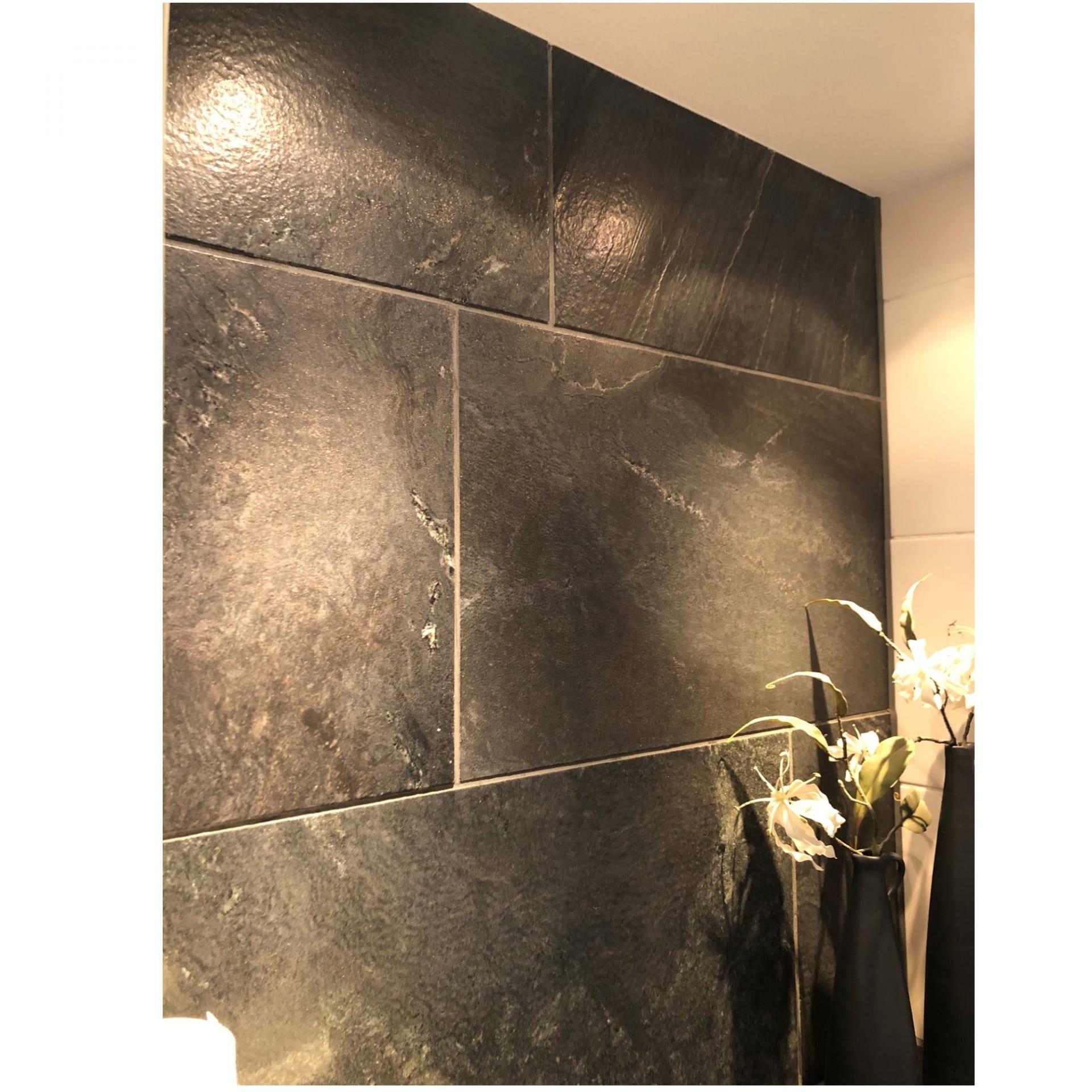 LEEUWARDEN – Carbon Gold vloer- en wandtegels toilet